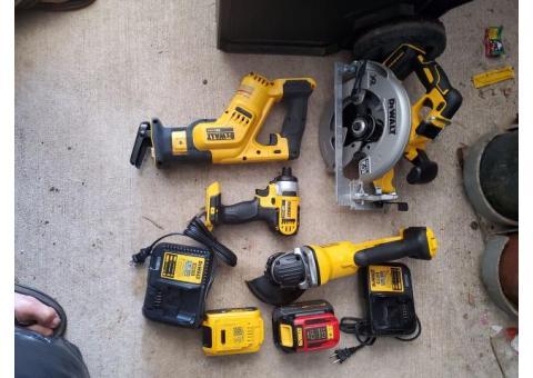 dewalt new tool kit